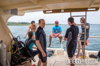 Landon and other Divers