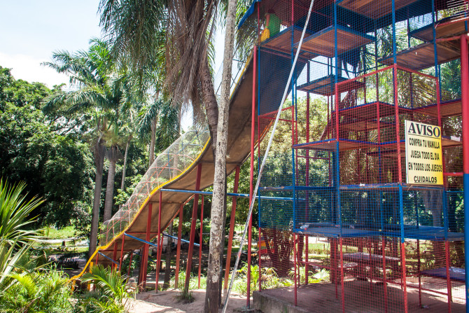Tall Slide for Kids