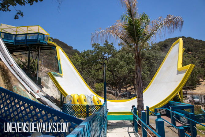 Big Pendulum Slide at Water Park