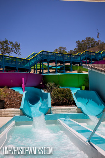 Double Water Slides