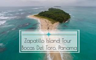 Bocas del Toro Panama Aerial FI
