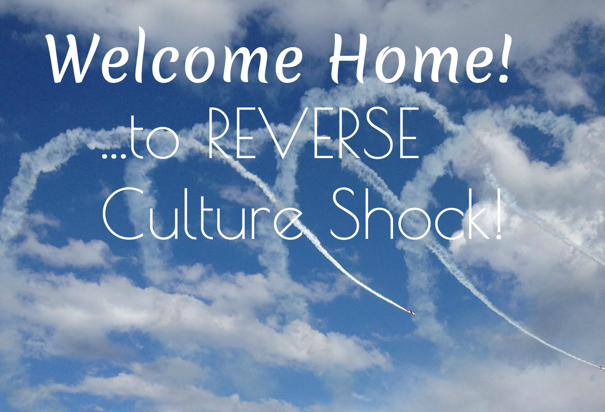 reverse culture shock Reverse culture shock, or re-entry, is simply a common reaction to returning  home  but it's also up to you to find ways to overcome such negative reactions.