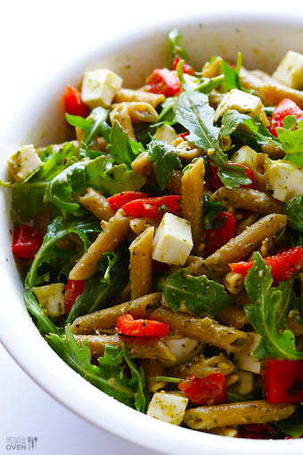 5-Ingredient-Pasta-Salad Healthy Dinner