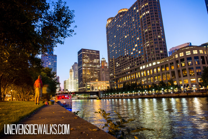 City Lights Chicago Riverwalk