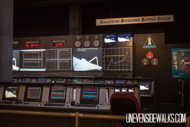Rocketdyne Space Shuttle Control Center