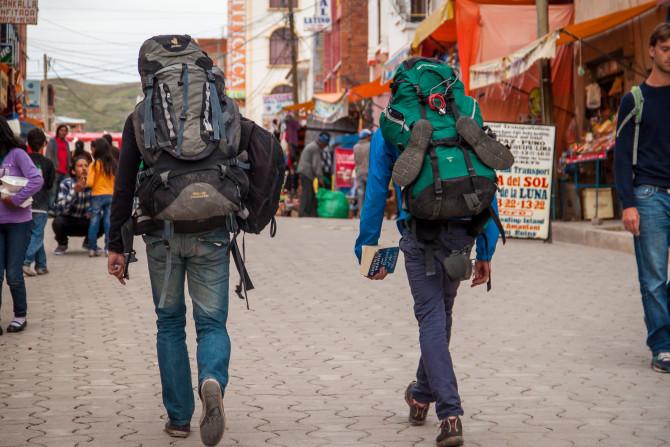 Backpackers Big Backpacks Packing Light Tips