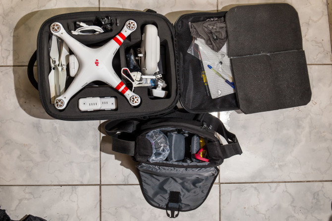 Drone Camera Packing