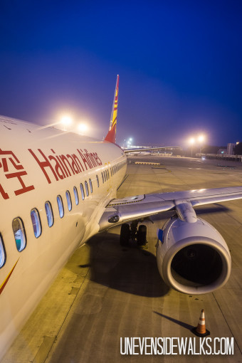 Hainan Airlines Airplane at Airport