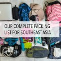Packing List Southeast Asia