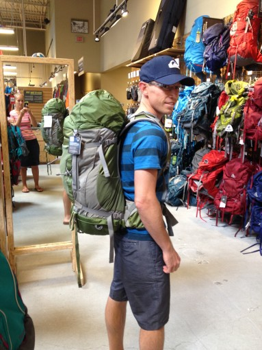 Tring on Backpacks