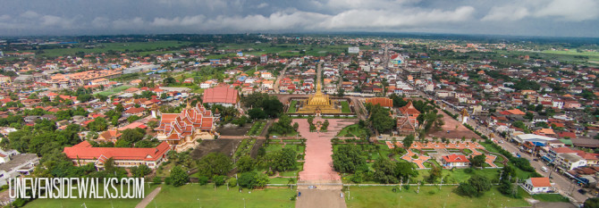 Laos Temples from the Air