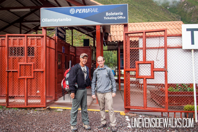 Peru Rail from Cusco to Aguas Calientes before hiking the Inca Trail