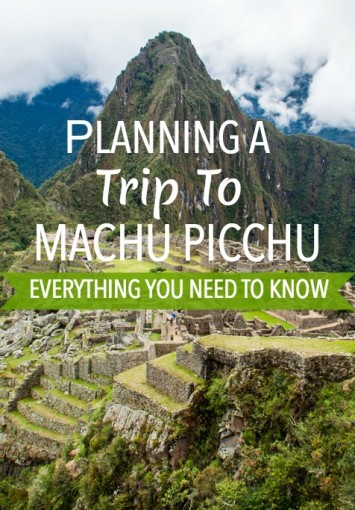 Planning a Trip to Machu Picchu