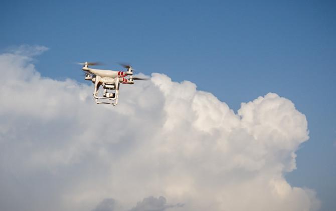 DJI in the sky