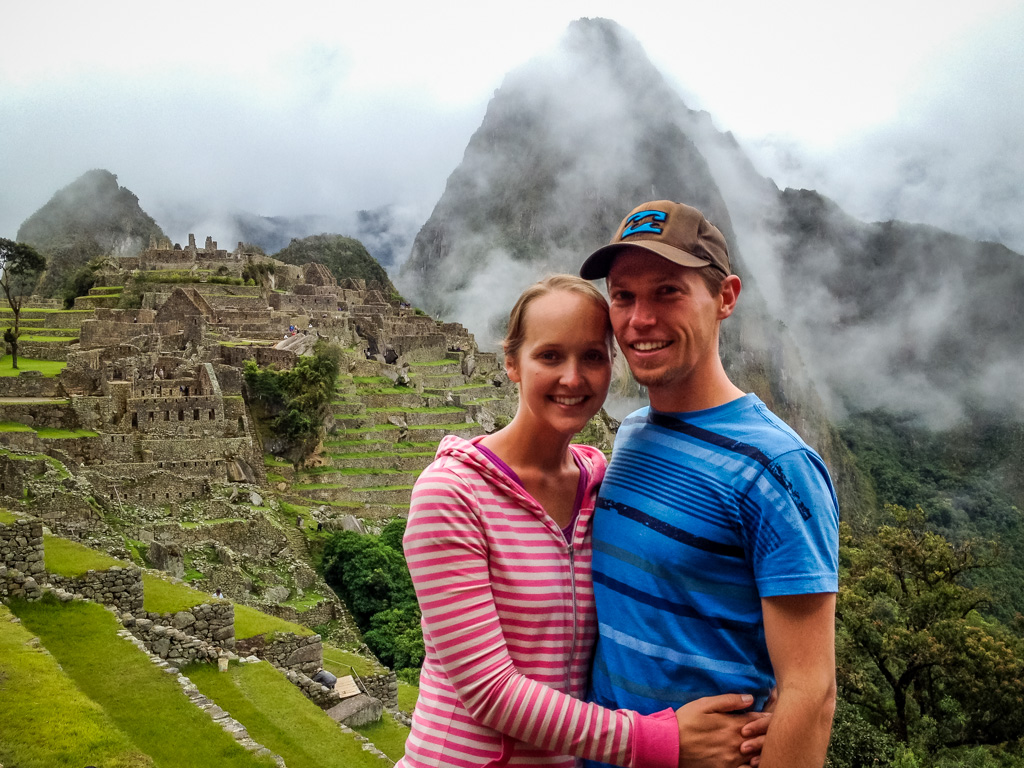 Landon Alyssa at Machu Picchu