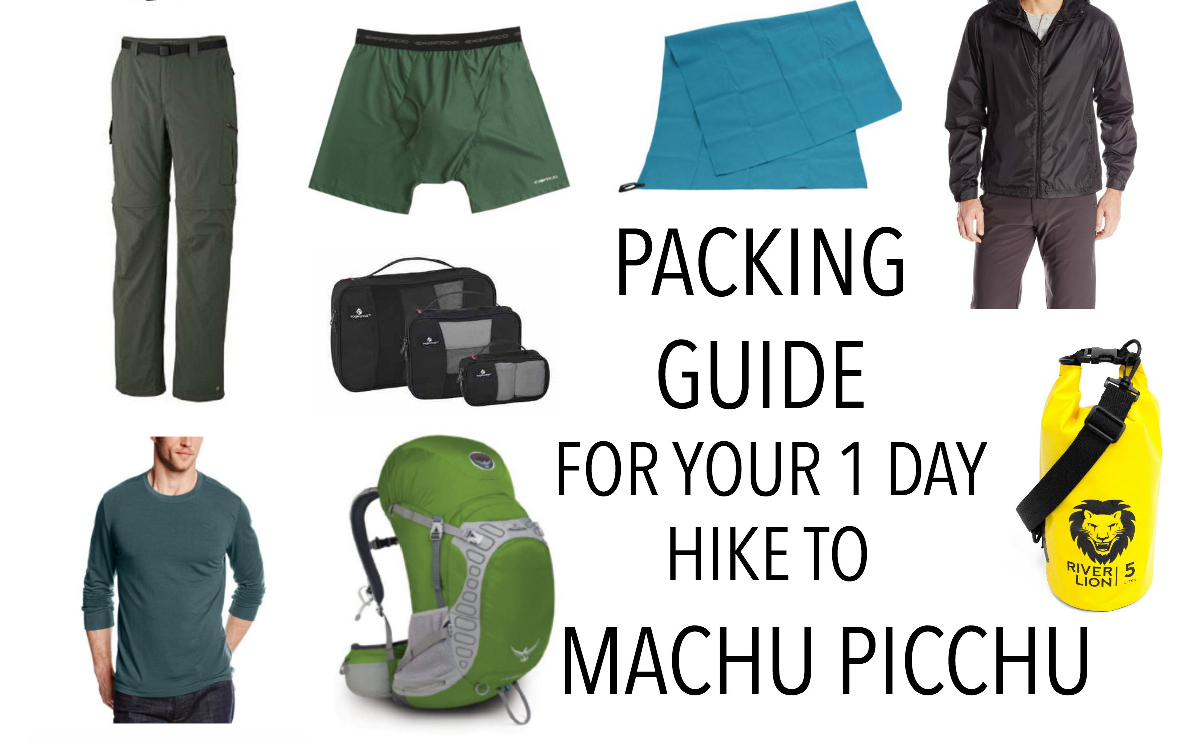 What To Pack For Your Inca Trail Hike 2