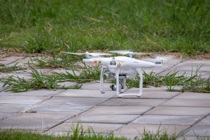 Phantom 3 Professional with 4k Camera Ready for Takeoff