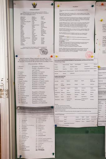 Regulation Documents, Left