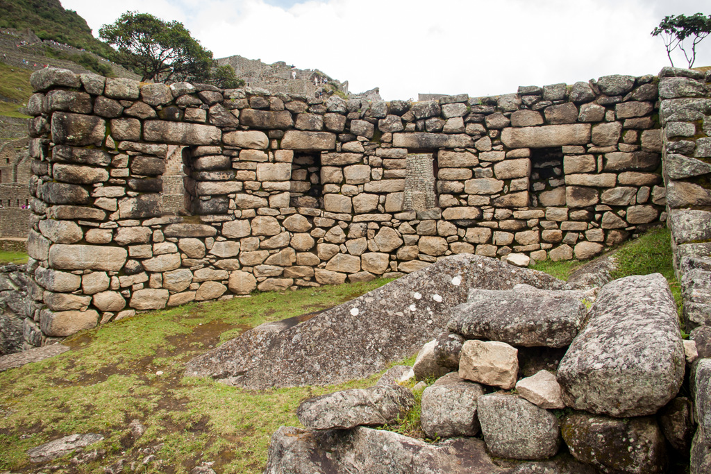 Rock Buildings at Machu Picchu