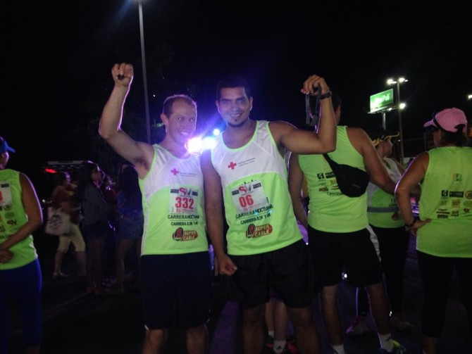 Running a Race with Friends in Costa Rica