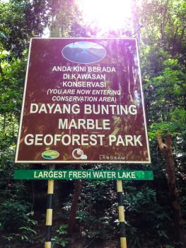 Dayang Bunting Geopark