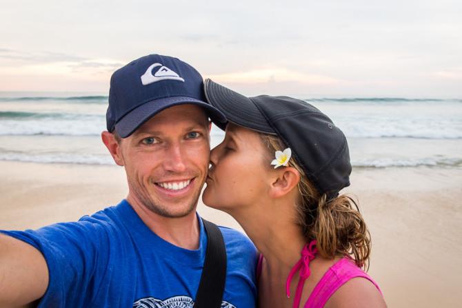 Landon Alyssa Phuket Kiss