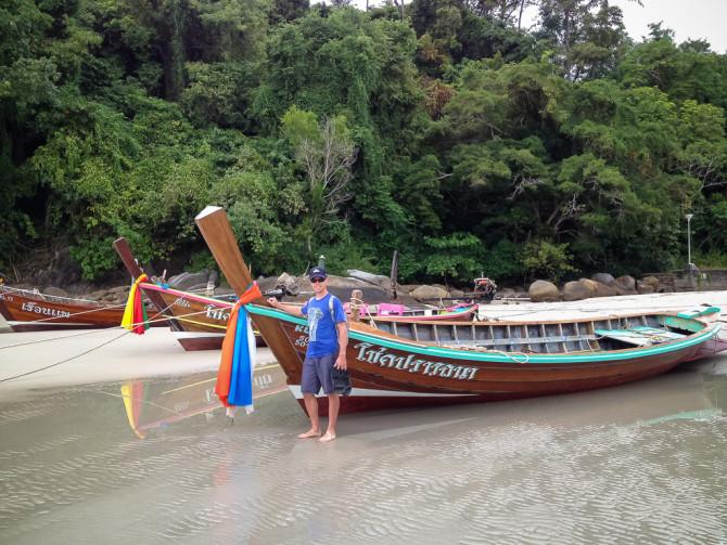 Landon at Karon Beach