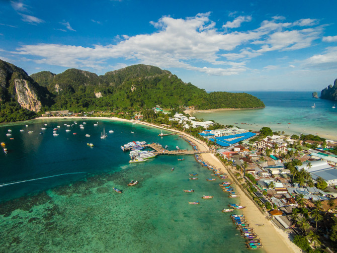 Phi Phi Pier and Other Side