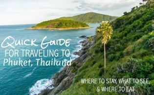 Quick Guide, Phuket FI