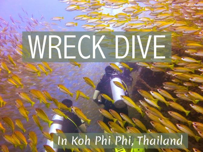 Wreck Dive Koh Phi Phi, Thailand