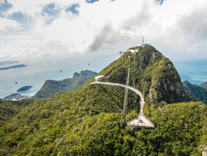 Langkawi Skybridge in Malaysia