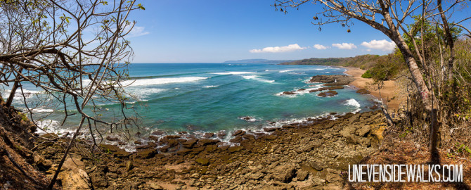 Beach Waterfall Panorama