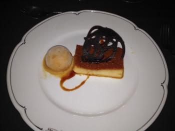 Dessert at Tango Show