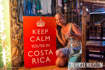 Keep Calm Youre in Cosat Rica