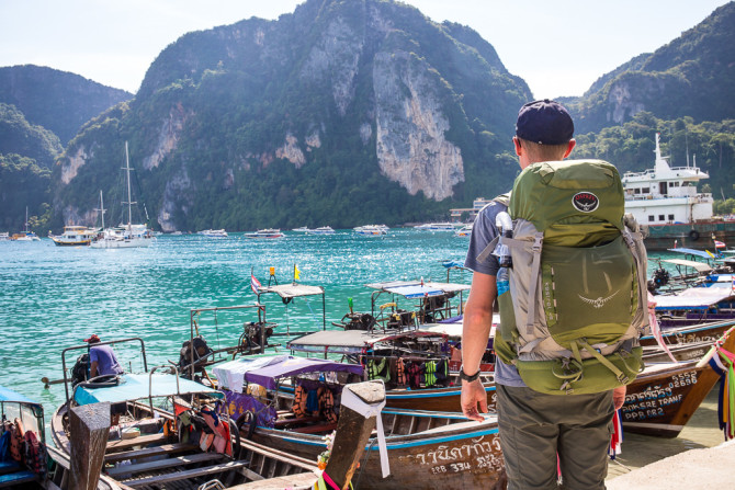 Landon Backpack in PhiPhi