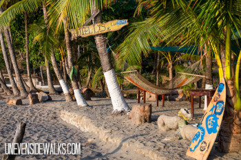 Montezuma Hostel Beach