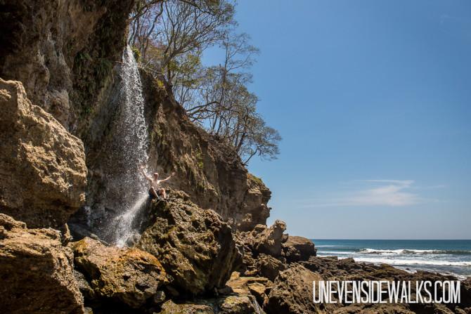Ocean Waterfall
