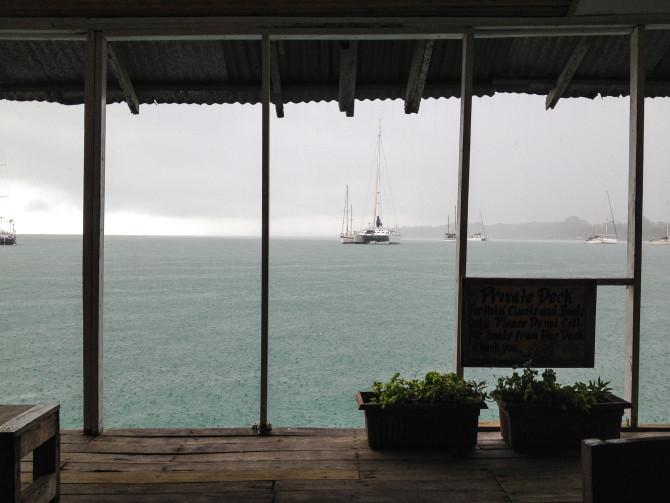 Rainy at Bocas Del Toro