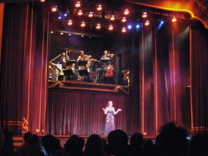 Tango Show Singing