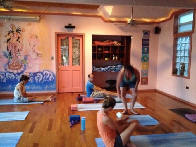 yoga studio bocas del toro