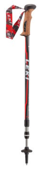 Leki trekking pole with interchangeable tips