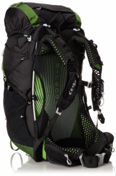 Osprey Exos lightweight backpack in green