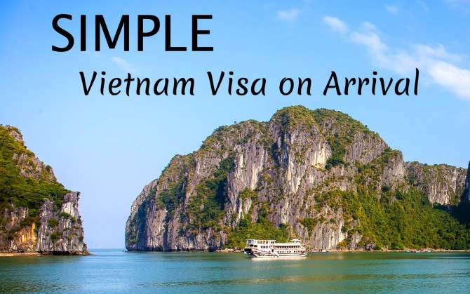 Simple Vietnam Visa on Arrival at Halong Bay